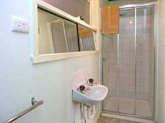 Ensuite bathrooms have shower, toilet & hand basin